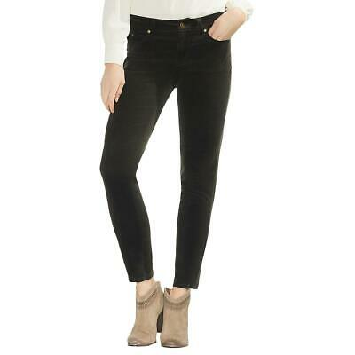 Vince Camuto Womens Green Corduroy Mid-Rise Casual Skinny Pants 27 4 BHFO 8310