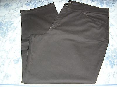 Lee Relaxed Fit At The Waist Dark Brown Jeans  24W Medium NWOT
