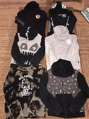 Boys Size 8 Billabong Hoodie And Jacket Bundle