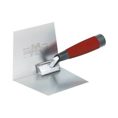 "MarshallTown 23D 4"" x 5"" Inside Drywall Corner Trowel with DuraSoft Handle"