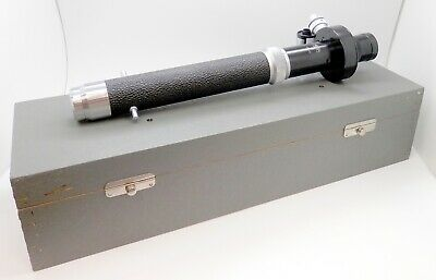 Vintage Carl Zeiss Jena Dipping Refractometer Circa 1902 - No.1101 in Box #4799