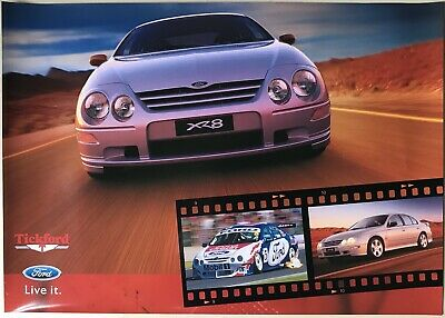 Ford Falcon AU XR8 Showroom Poster See also Brochure listed