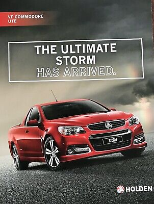 Holden Commodore VF  Limited Edition Storm Ute Sales Brochure