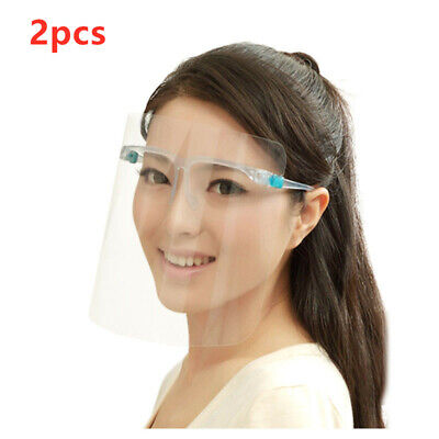 New Face Shield Clear Glasses Protector Anti-oil Droplet Prevention Face Shield