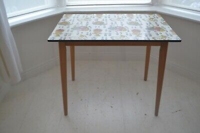 STUNNING VINTAGE FORMICA DINING TABLE - 1950's