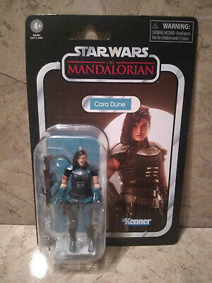 New Star Wars - Vintage Collection Cara Dune ~In Hand~ The Mandalorian MOC