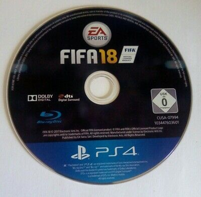 FIFA 18 - Disc Only - PS4 - Playstation