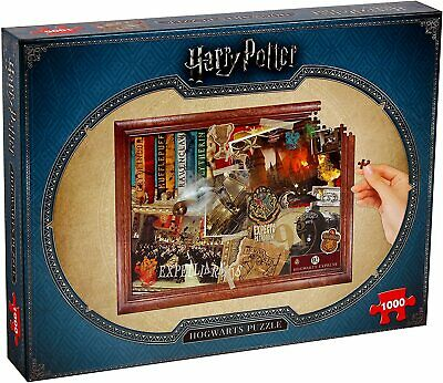 Harry Potter Hogwarts Collectors Jigsaw Puzzle - 1000 Pieces