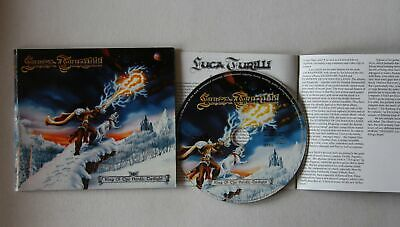 Luca Turilli King Of The Nordic Twilight GER Adv CD 1999 Card-FOC + Booklet