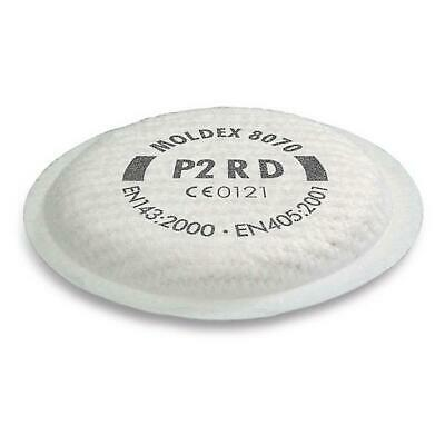 Moldex Filter Disc P2SL for the 8172 (pack of 8 = 4 pairs)