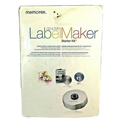 Memorex Expressit Pc Mac Cd Dvd 120 300 Labels Label Maker Software Refills 60 95 Picclick