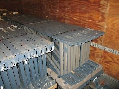 "Slotted Pallet Racking Single Upright 16' 192"" Used"