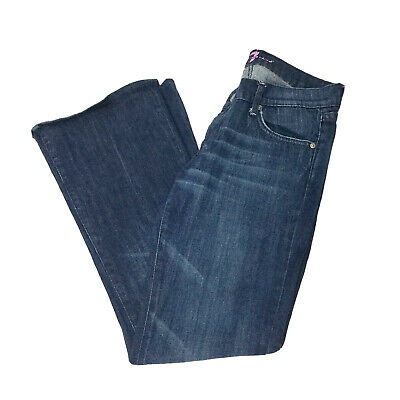 infierno Cusco entidad  7 FOR ALL Mankind Womens DOJO Jeans Wide Flare Leg Milan Light Wash 7FAM 28  - $55.99 | PicClick
