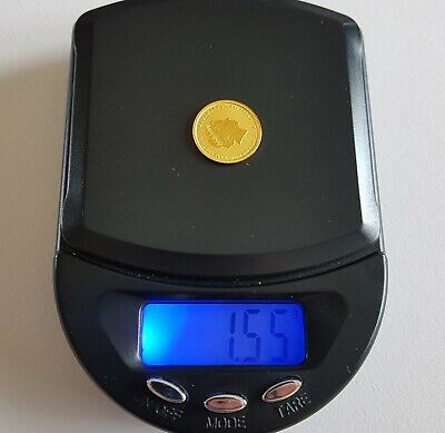 Genuine Solid 24k Gold Coin. SMALL! 9999 Gold. Year Of The Horse. Collectable.