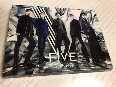 SHINee FIVE First Limited TYPE-A CD+Blu-ray+Photocard JAPAN ALBUM