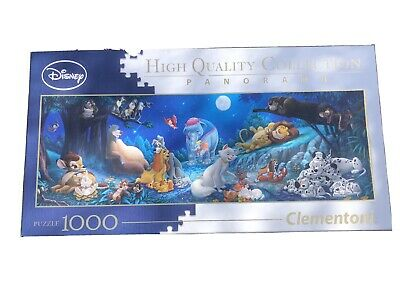 Disney High Quality Collection Panorama Ensemble 1000 Piece Clementoni Puzzle