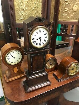 Colection Of Five Rare Clocks All Mahogany Antique