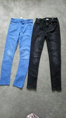 2 x Boys Denim Super Skinny jeans bundle Age 11-12 Years Next  & Zara