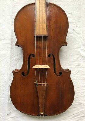 Fine old French baroque violin by Remy fils c1790,VIDEO!