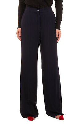 RRP €110 PER TE By KRIZIA Tailored Trousers Plus Size 19 Stretch Flat Front