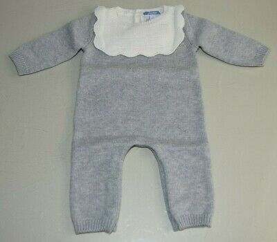 JACADI Girl/'s Azurage Natural//Off White Onepiece with Hood Size 6 Months NWT $68
