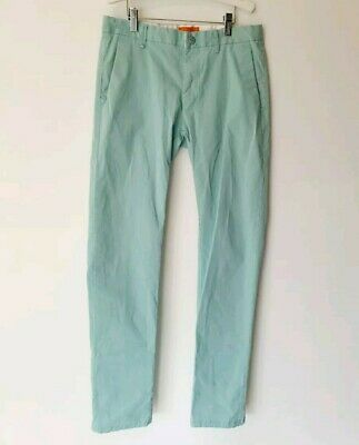 Scotch and Soda Sulage and Soda Bowie Chinos Teal Size 30 Pants