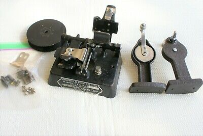 VINTAGE GRISWOLD JUNIOR FILM SPLICER WITH REWINDERS: 8mm & 16mm Movie Edit