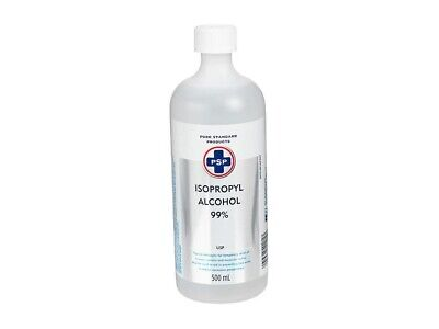 isopropyl Alcohol 99%, 1 bottle (500ml), fast shipping with tracking number