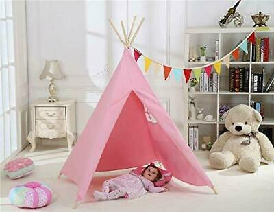 Kids Teepee Tent Childrens Wigwam Indoor Outdoor Play House Large