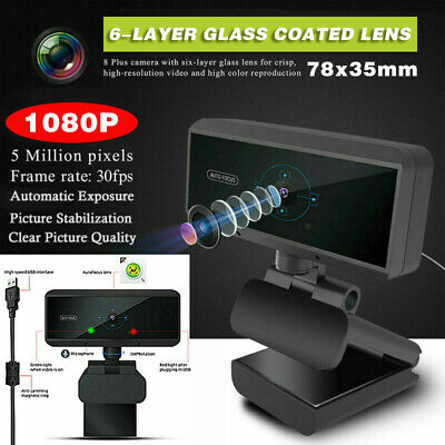 5 Megapixel HD 1080P Webcam Camera for Video Recording for Twitch Youtube