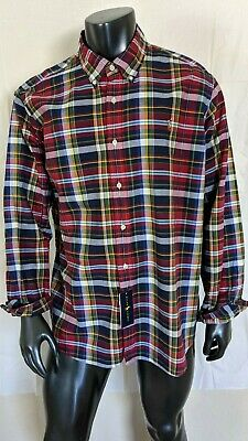 Ralph Lauren Classic Fit Long Sleeve Shirt Mens Sz XXL Multi-Color Pony NWT $89