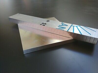 100mm 10pcs 7075 Aluminum Al Alloy Shiny Polished Plate Sheet 1mm 100mm