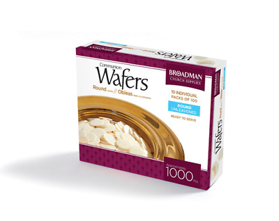 Communion Bread Wafers - 1000 piece