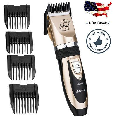 Dog Cat Pet Grooming Clippers Hair Trimmer Groomer Shaver Razor Quiet Clipper