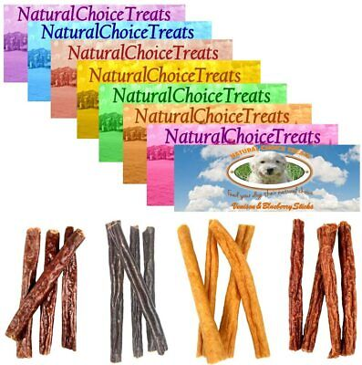 Natural Choice 100% Natural Meat Healthy Dog Treats - Sticks & Training Chews