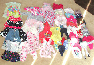 Lot of 51 pc.  baby girl clothes  , size 6 months
