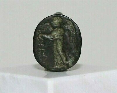 ANCIENT GREEK BRONZE RING 4th CENTURY BC.
