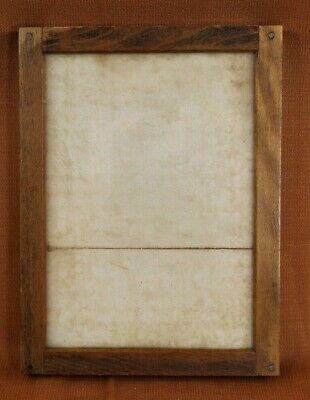 Eastman Kodak Wood and Glass 5 X 7 Contact Print Frame Exc