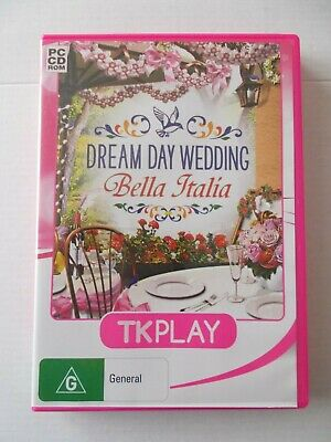 - Dream Day Wedding [Pc Cd-Rom] Bella Italia [Brand New] Tkplay