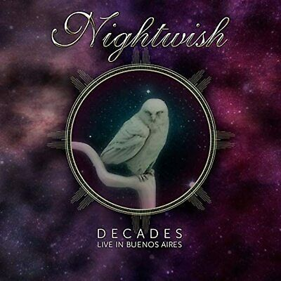 NIGHTWISH Decades: Live In Buenos Aires JAPAN 2CD F/S w/Tracking# New from Japan