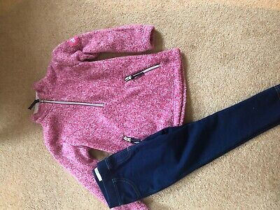 Tottie Fleece With M&S Jeggings Age 4-5 Joules