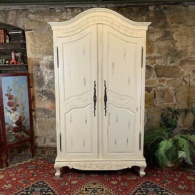 Superb Antique French Provincial Style Armoire-Baker Furniture-Wardrobe-Hamptons