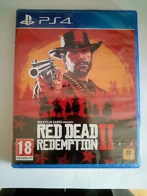 Red Dead Redemption 2 II - New - Sealed - PS4 - Playstation
