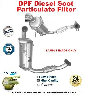 FORD TRANSIT 1.8D Diesel Particulate Filter DPF 08 to 12 6498867RMP Soot BM New
