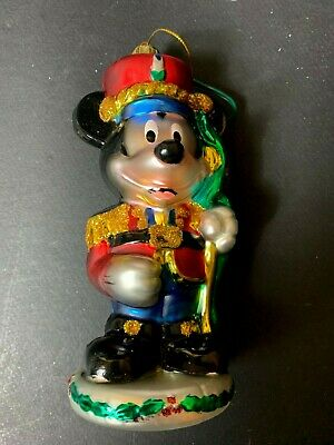 Christopher Radko Disney Toy Soldier Mickey Collectible Ornament