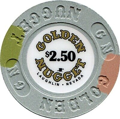 Golden Nugget, Laughlin $2.50 MINT