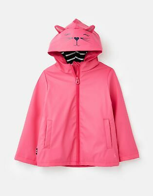 Joules Riverside Novelty Raincoat  - PINK