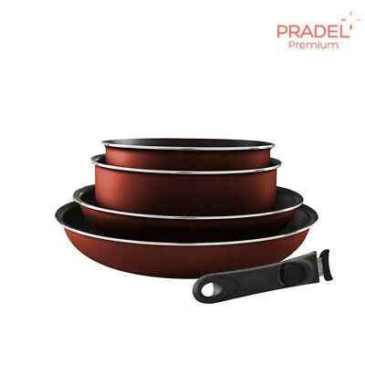 Pradel Premium Batterie De Cuisine Set De 13 Pieces Casseroles
