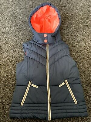 Girls NEXT Hooded Gilet Bodywarmer Age 11-12 Years