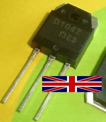 2SD1047 D1047 TO-3P Transistor from UK Seller
